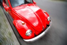 Free Red Car Royalty Free Stock Photo - 2862195