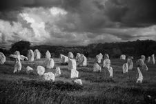Free Menhirs Royalty Free Stock Images - 2862659