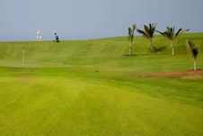 Free Golfer At Exotic Destination Royalty Free Stock Photography - 2862787