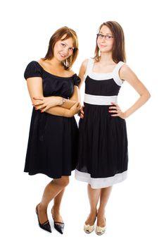 Free Beauty Couple Woman Portrait Stock Images - 2863134