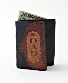 Free Dad S Wallet Stock Photography - 2863622