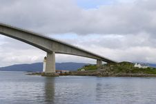 Free Skye Road Bridge Stock Image - 2863881