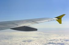 Aircraft Winglet Royalty Free Stock Photography
