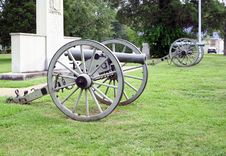 Free Civil War Cannons Royalty Free Stock Photos - 2865518