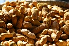 Peanuts Background - Abstract Stock Photo