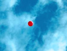 Ballon In Sky Royalty Free Stock Images