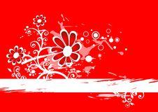 Free Grunge Flowers Background Royalty Free Stock Photos - 2866728