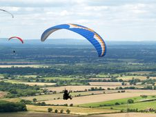 Free Hang Gliders Stock Photos - 2867733