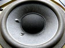 Powerful Speaker Stock Photo