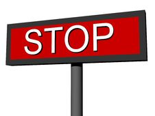 Free Sign STOP Stock Photo - 2867920