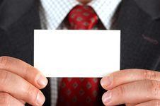 Free Visiting Card 5 Royalty Free Stock Photo - 2868735