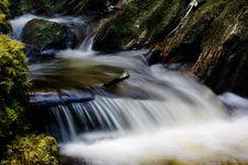 Free Beautiful Waterfall. Royalty Free Stock Photography - 2869037