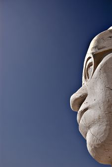 Free Stone Head Royalty Free Stock Photography - 2869247