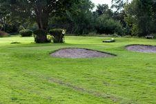 Free Golf Field. Royalty Free Stock Photos - 2869648