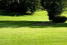 Free Golf Field. Stock Photos - 2869733