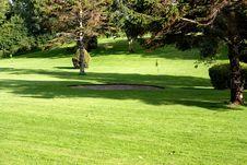 Free Golf Field. Stock Photo - 2869770