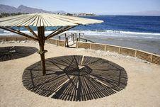 Free Parasol On Beach, Red Sea Royalty Free Stock Photos - 2869798