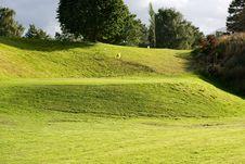 Free Golf Field. Stock Photos - 2869803