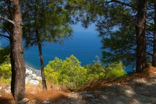Free Mediterranean Landscape Greece Royalty Free Stock Images - 2869869