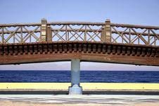 Free Bridge In Dahab, Red Sea Stock Images - 2869884