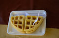 Free Freshly Baked Waffles Royalty Free Stock Images - 28601659