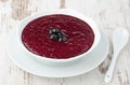 Free Black Currant Jam In A Bowl Royalty Free Stock Photos - 28602378