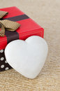 Free Cookie With Icing In The Form Of Heart Near The Gift Box, Select Royalty Free Stock Images - 28602409