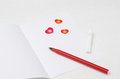 Free Unwritten Love Letter, Selective Focus Stock Photography - 28602832