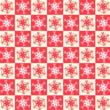 Christmas Background Seamless Pattern Stock Photography