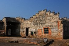 Free Inide Of Hakka Round House Royalty Free Stock Photos - 28602558