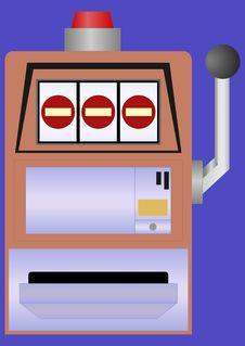 Free Slot Machine. Stock Photo - 28603100