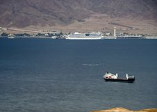 Free The Gulf Of Aqaba &x28;Red Sea&x29; Royalty Free Stock Photo - 28603675