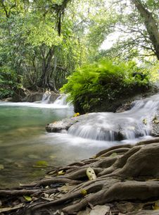 Free Jed Sao Noi Waterfall, Saraburi Province, Thailand. Stock Image - 28603851