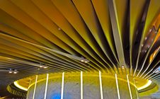 Free Abstract Architecture Ceiling Design Royalty Free Stock Photos - 28604218
