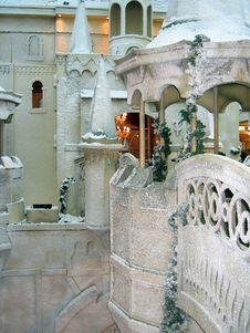 Free Winter Fairy Castle Stock Photos - 28605403
