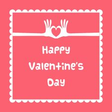 Free Happy Valentine S Day Card Stock Photo - 28605440
