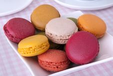 Free Colorful Macaroons Stock Photo - 28605510