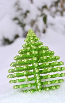 Free Christmas Tree Ornament Royalty Free Stock Photo - 28607395