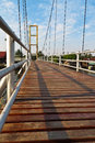 Free Cable Bridge Royalty Free Stock Photos - 28617538