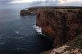 Free View Fron Cape Saint Vincent, Portugal Stock Photo - 28619500