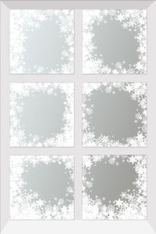 Free Winter Window Royalty Free Stock Photo - 28617175