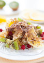 Free Sweet Fruit And Berry Dessert Stock Image - 28620631