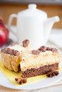 Free Two Pieces Of Sweet Cake For Tea Stock Photography - 28620672