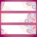 Free Set Of Colorful Banners. Royalty Free Stock Photos - 28621208