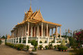 Free Royal Palace, Phnom Penh, Cambodia Royalty Free Stock Photography - 28623247