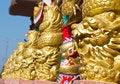 Free Dragon Head Pole Royalty Free Stock Photos - 28624188