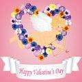 Free Vintage Valentine Card Stock Image - 28627351