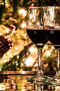 Free Two Wine Glasses Ready Stock Photos - 28629233