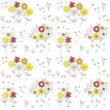 Free Flower Pattern Royalty Free Stock Image - 28621096