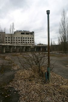Free The Abandoned City Of Pripyat, Chernobyl Royalty Free Stock Images - 28623129